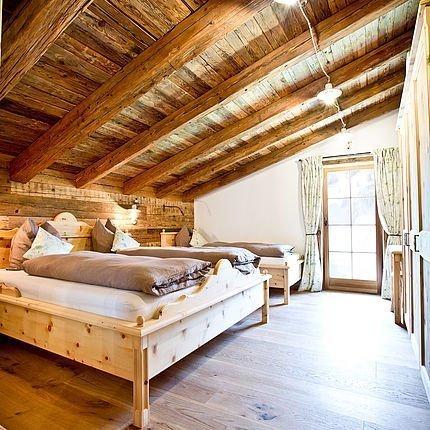 Betten in der Martenalm